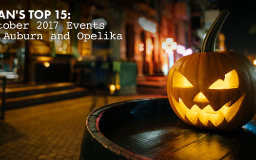 October 2017 events in Auburn and Opelika