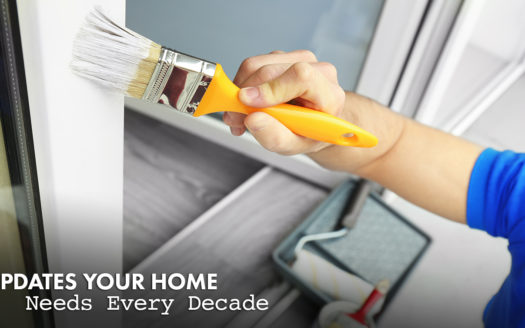 updates your home needs every decade