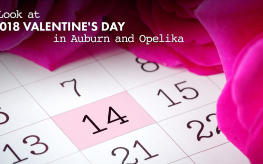 Valentine's Day events in Auburn and Opelika