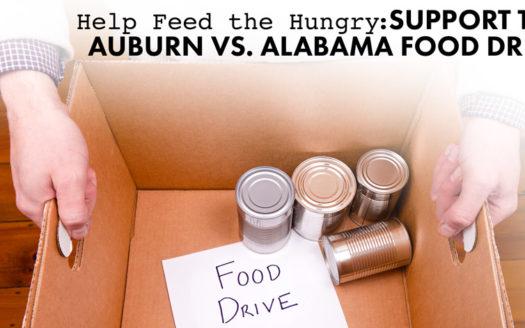 Support the Auburn vs Alabama Food Drive