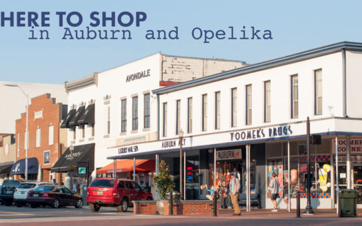 Where to Shop in Auburn Opelika