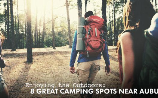 camping spots near Auburn