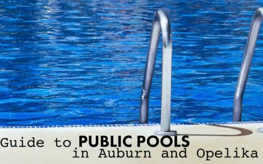 public pools in Auburn and Opelika