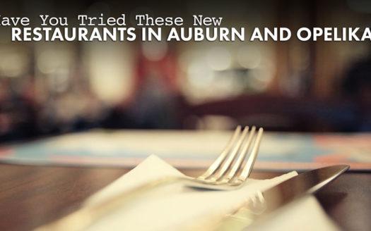 new restaurants in Auburn and Opelika