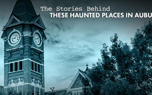 haunted places in Auburn