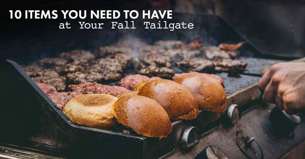 items you need to have at your fall tailgate