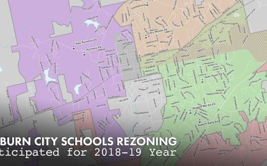 Auburn City Schools rezoning