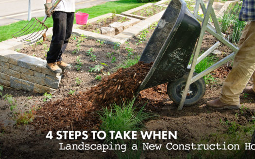 landscaping a new construction home