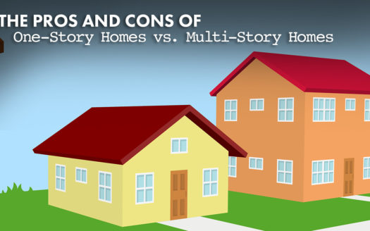 one-story homes vs. multi-story homes