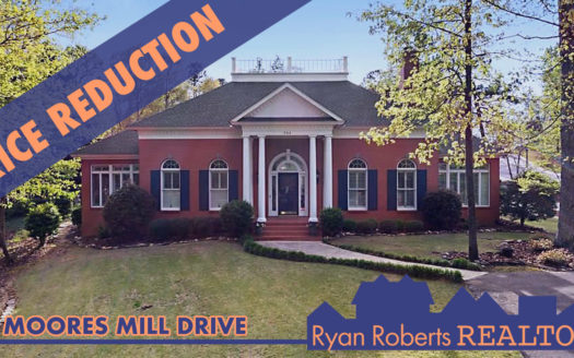price reduction on 702 moores mill drive