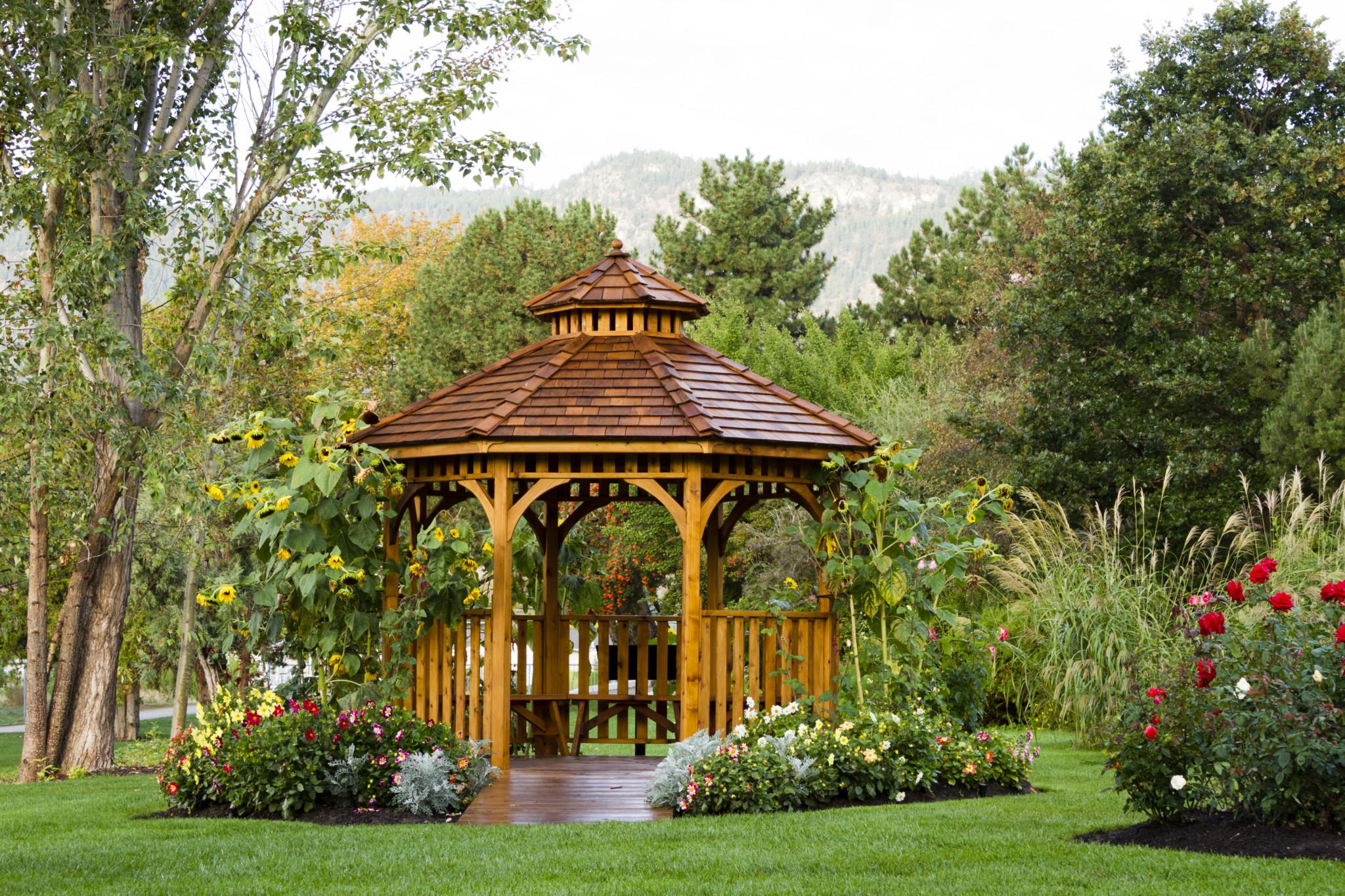 Home Improvement 5 Garden Structures Defined Ryan