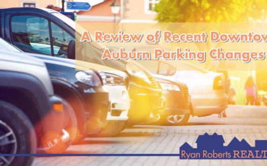 recent Downtown Auburn parking changes