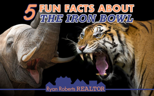 fun facts about the Iron Bowl