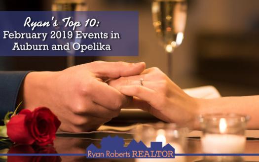 February 2019 events in Auburn and Opelika