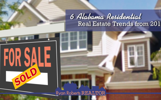 Alabama's residential real estate trends from 2018