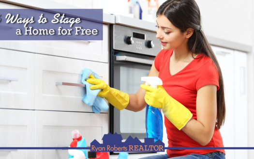 ways to stage a home for free