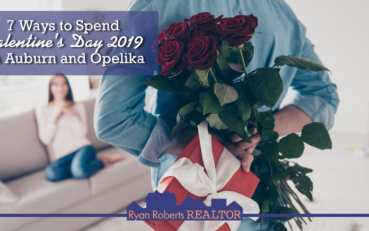 ways to spend Valentine's Day 2019 in Auburn and Opelika