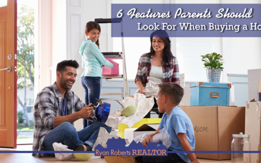 features parents should look for when buying a home
