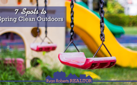 spots to spring clean outdoors