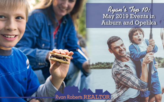 May 2019 Events in Auburn and Opelika