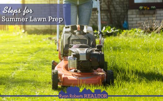 summer lawn prep