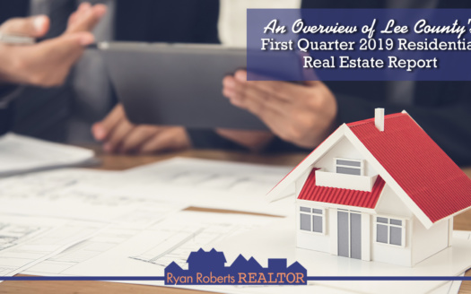 Lee County's First Quarter 2019 Residential Real Estate Report