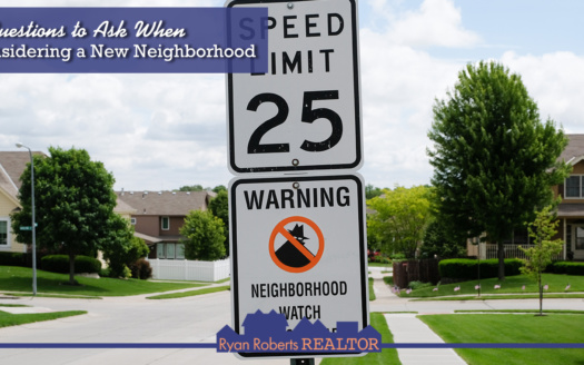 Considering a New Neighborhood