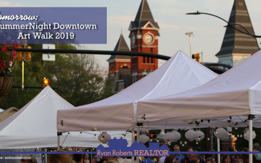 SummerNight Downtown Art Walk 2019