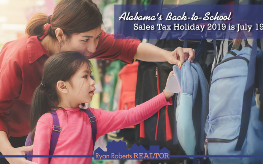 Alabama's Back-to-School Sales Tax Holiday 2019