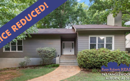 price reduction on 747 Tanglewood Ave.