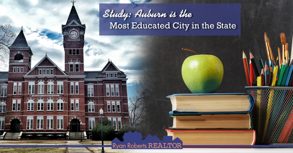 Auburn in the most educated city in the state