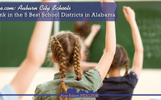 Auburn City Schools Rank in the 5 Best School Districts in Alabama