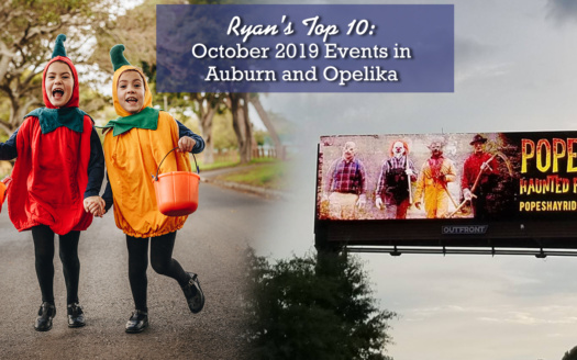 October 2019 Events in Auburn and Opelika