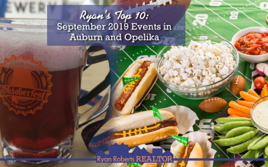 September 2019 Events in Auburn and Opelika
