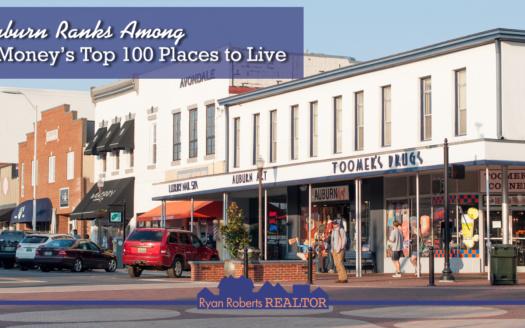 Auburn ranks among Money's Top 100 Places to Live