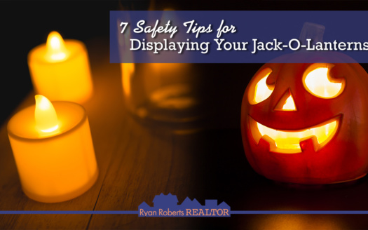 safety tips for displaying your jack-o-lanterns