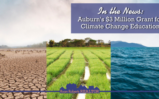 Auburn's $3 million grant for climate change education