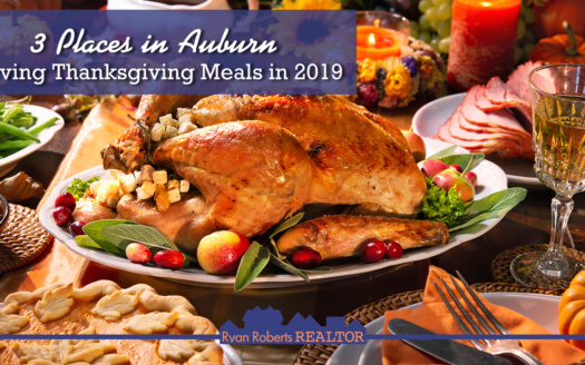 places in Auburn serving Thanksgiving meals in 2019