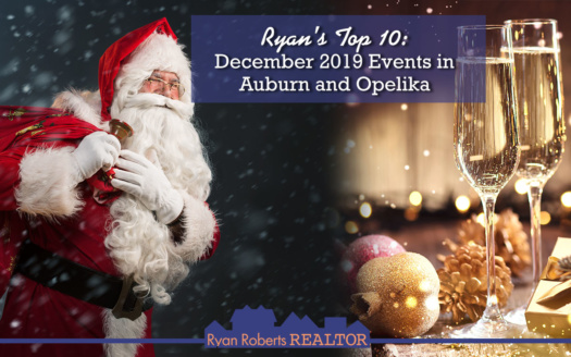December 2019 Events in Auburn and Opelika