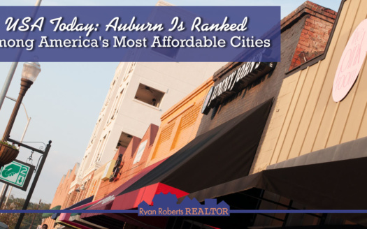 Auburn is ranked among America's most affordable cities