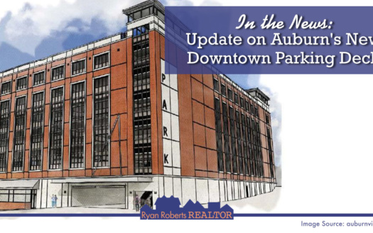 Auburn's New Downtown Parking Deck