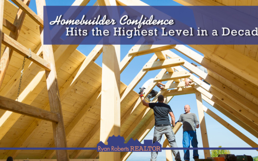 Homebuilder Confidence Hits the Highest Level in a Decade