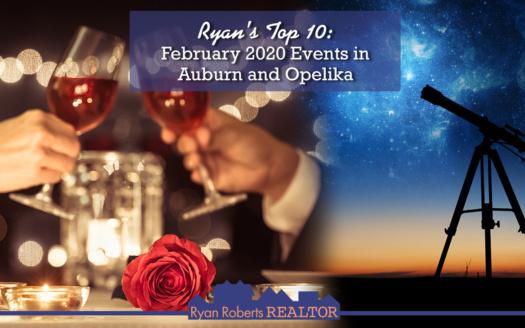 February 2020 Events in Auburn and Opelika