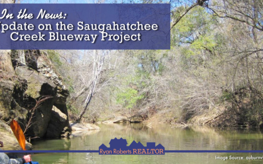 update on the Saugahatchee Creek Blueway Project
