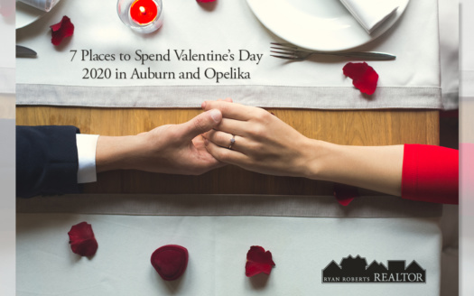 Places to Spend Valentine's Day 2020 in Auburn and Opelika