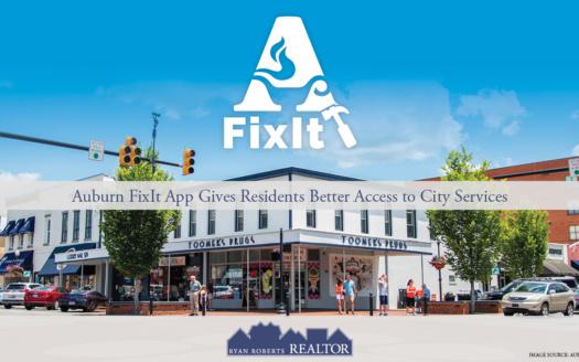 Auburn FixIt app