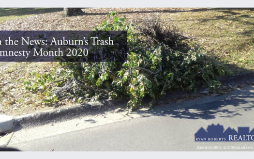 Auburn's trash amnesty month 2020