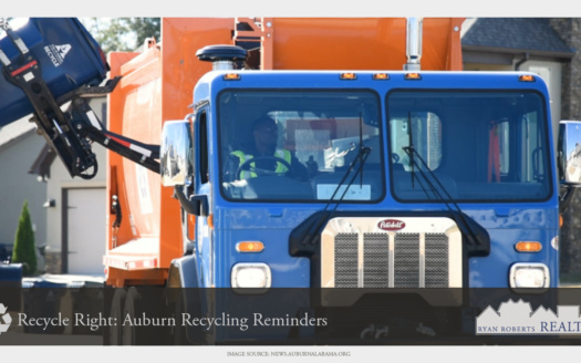 Auburn recycling reminders