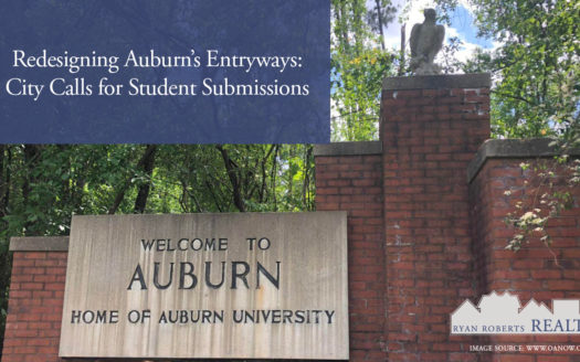redesigning Auburn's entryway
