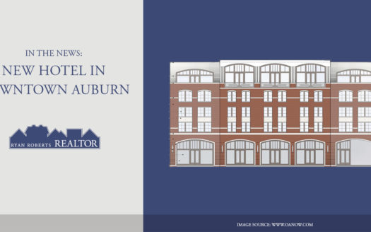 new hotel in downtown Auburn